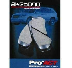 Akebono ACT555A Front Ceramic Pads