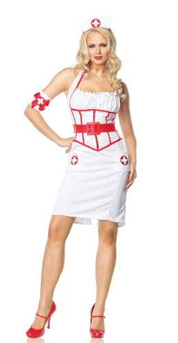 On Call Nurse Pin Up Costume By Leg Avenue 83488