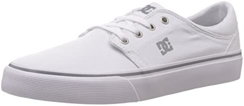 DC Shoes Trase Tx  Baskets mode homme - Blanc (White)  46 EU