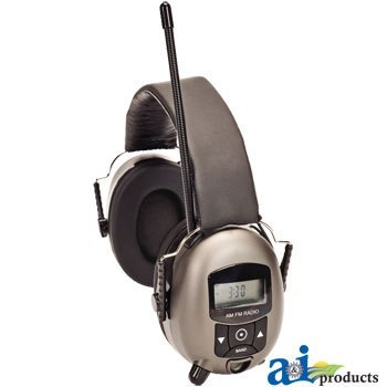 Sunbelt- Mp3 / Am/Fm/ Digital Radio Ear Muff. Part No: B110121816