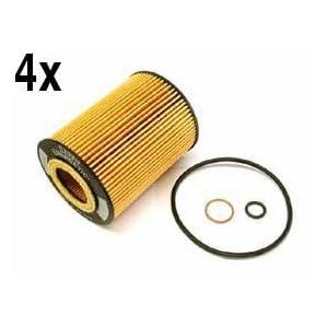 How Do I Bmw X5 4 4 4 8 Oem Oil Filter Kits Lot 4 Hengst For Sale