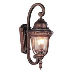 Trans Globe Lighting 4921 ABZ 2-Light Hanging Lantern, Antique Bronze