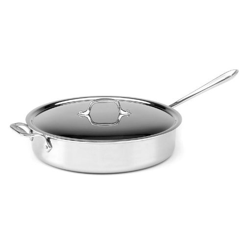 Buy Best Cheap All Clad 5 Quart Stainless Steel Saute Pan