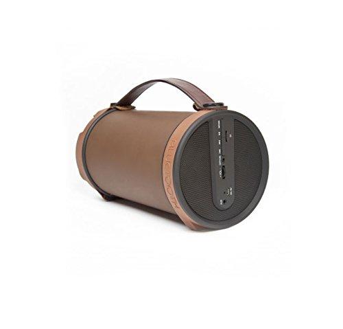 Pulgares arriba BOOM TUBO 7W altavoz Bluetooth, Mate de Brown