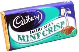 Cadburys Mint Crisp - 49g - Irish Chocolate