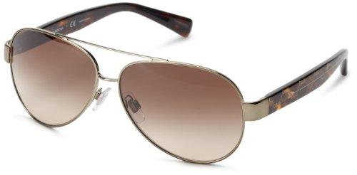 Dolce & Gabbana Dg2118P 1196/13 D&G All Over Sunglasses,Gunmetal/Brown Gradient Lens,60 Mm