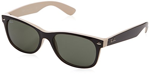 black lens ray bans  black rubber