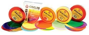 Hygloss Products Inc. 5 in Tissue Circles Pastel 480 Pcs