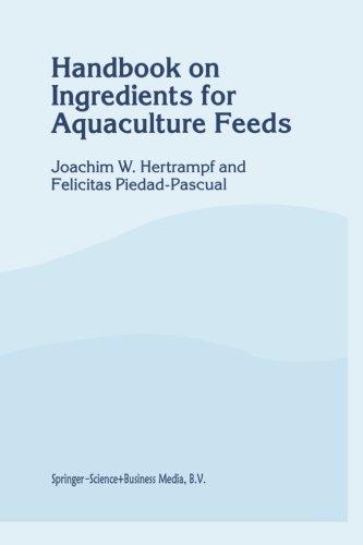 Handbook On Ingredients For Aquaculture Feeds