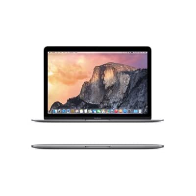 Apple MacBook MJY32HN/A 12-inch Retina Display Laptop (Intel Core M/8GB/256GB/OS X Yosemite/Intel HD Graphics...
