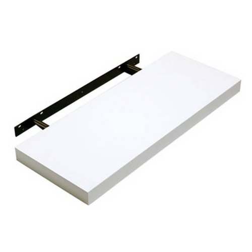 Hudson Floating Shelf -Gloss White 600mm