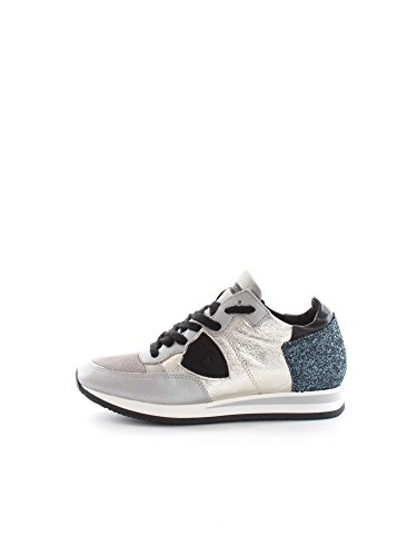 PHILIPPE MODEL PARIS TRLD GM20 SILVER SNEAKERS Donna SILVER 37