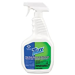Tilex Soap Scum Remover and Disinfectant, 32oz Smart Tube Spray