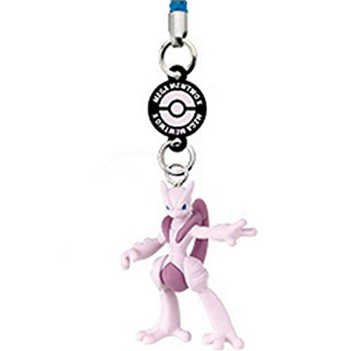 Pokemon XY DX01 Side X Netsuke Strap Figure Tomy - Mega Mewtwo X - 1