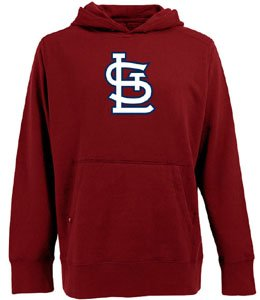 MLB St. Louis Cardinals Men's Signature Hoodie, Dark Red, Large at Amazon.com