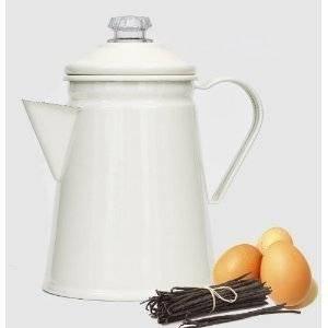 Victor Coffee Percolator - Cream