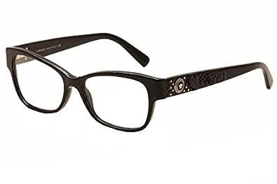 Amazon.com: Versace VE3196 Eyeglasses-GB1 Black-54mm: Shoes