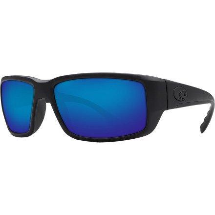96dccbdf4ce Costa Del Mar Fantail Adult Polarized Sunglasses Blue Mirror ...