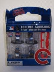 Chicago Cubs Forever Squisherz Collectibles with Bracelet