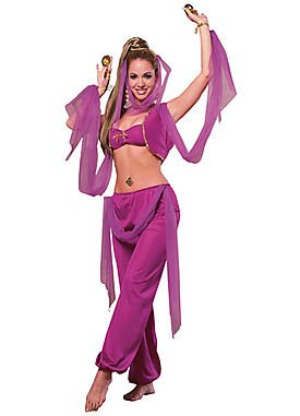 Arabian Princess Adult Costume Set