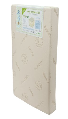 Colgate Eco Classica Iii Dual Firmness Eco-Friendlier Crib Mattress, Organic Cotton Cover back-991591