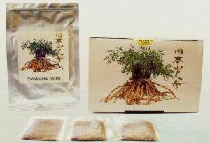 日本山人参茶 ティーパック 30包入り マルコーフーズ