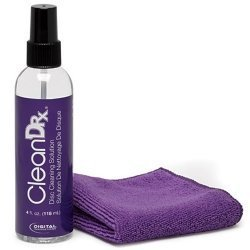 CleanDr for DVD & CD Disc Cleaning Solution