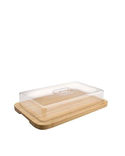 BergHOFF Studio Rectangular Bamboo Dish with Cover, Natural