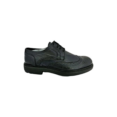 Scarpe sneaker uomo Exton made in italy an68 Blu (42)
