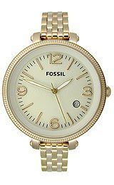Fossil Heather Stainless Steel - Gold-Tone Women's watch #ES3192