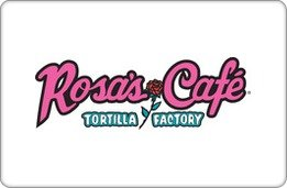 Rosa's Cafe & Tortilla Factory Gift Card ($25) (Windows Gift Card compare prices)