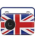 BUSH DAB Digital Radio with excellent Union Jack front panel, looks GREAT & sounds ACE on the side anywhere!
