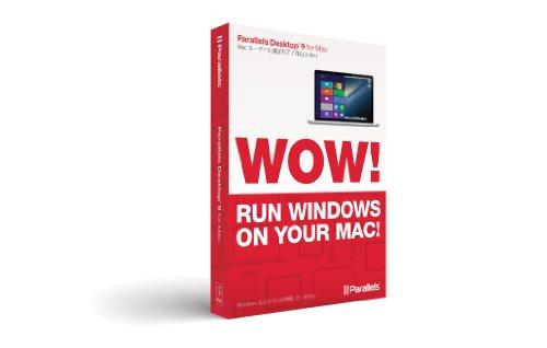 Parallels Desktop 9 for Mac Retail Box CD JP