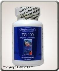 TG 100 (Organic Glandular) 100 cap