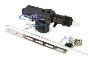 Scosche DLA1 2 Wire Door Lock Actuator, Gun Type (Actuator Wire Harness compare prices)
