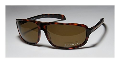 John Richmond 50804 Womens/Ladies Designer Full-rim Sunglasses/Eyewear (64-14-130, Havana)