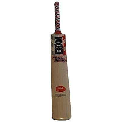 BDM Master Blaster English Willlow Cricket Bat