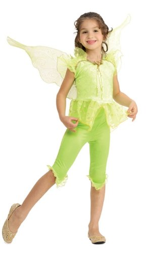 Child Tinkerbell Costume with Wings