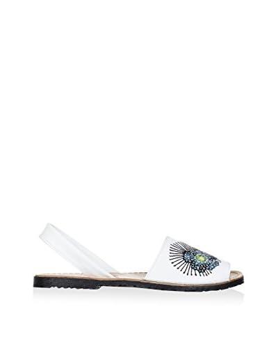 AVARCA Sandalo Minorca  [Bianco/Multicolore]