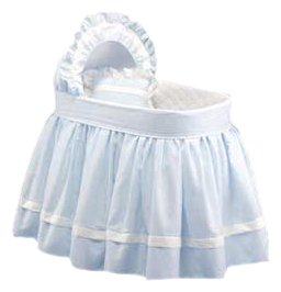 Baby Doll Bedding Regal Pique Bassinet Set - 1