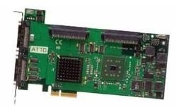 ATTO ExpressPCI UL5D SCSI Host Adapter (Dual Channel PCIe to Ultra320 SCSI, VHDCI)