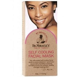 Dr. Miracle's Self Cooling Facial Mask 4 Oz by Dr Miracles (English Manual)