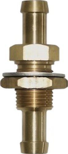 Seasense thru bulk head fuel fitting inch brass