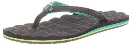 Volcom Women's Recliner Sandal,Brown,8 M US