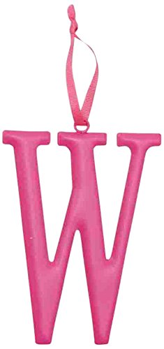 Mud Pie Metal Initial Wall Hanging, W, Large