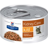 Hill's Prescription Diet K/d Feline Chicken & Vegetable Stew