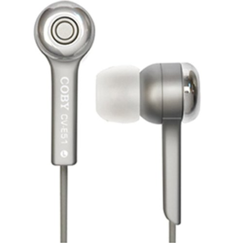 Silver Jammerz Isolation Stereo Earphones Silver Jammerz Isolation Stereo Earphones