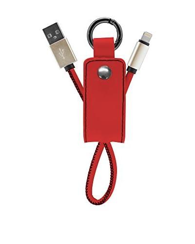 NUEBOO Schlüsselanhänger 8 Pin rot