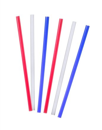 """Tervis Tumbler Straight 9"""" Assorted Traditional Straws Set Of 6 front-519305"""