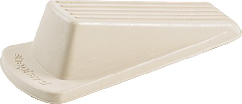 Shepherd Hardware 9163 Heavy Duty Rubber Door Wedge, Off-White